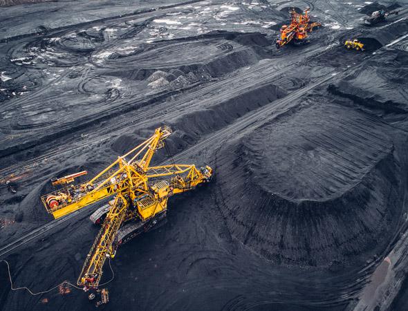 Lieux d extraction du charbon